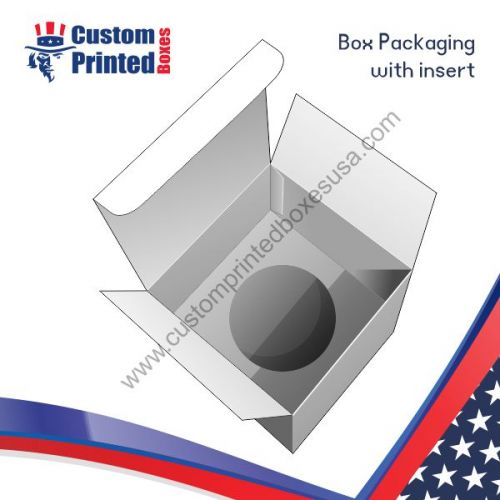box packaging with inserts